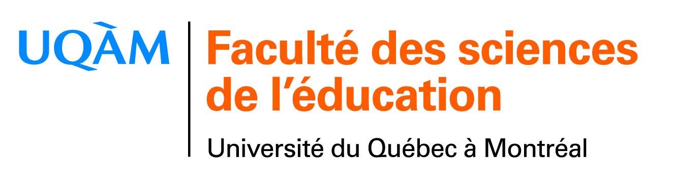 logo de la Faculté des sciences de l'éducation de l'UQAM
